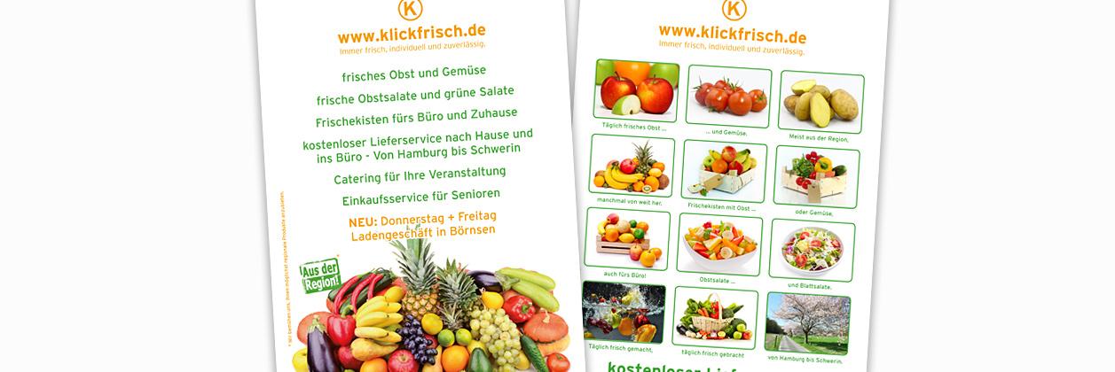Full-Service-Werbeagentur: Flyer