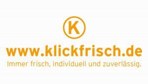 Logoentwicklung www.klickfrisch.de