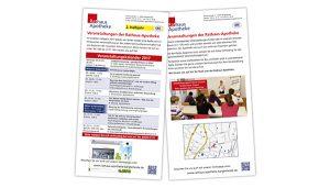 Flyer Veranstaltungskalender